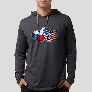 Czech American Long Sleeve T-Shirt