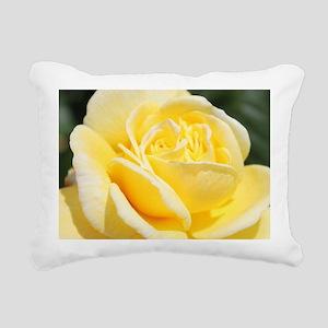 beautiful yellow rose fl Rectangular Canvas Pillow