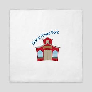 School House Rock Queen Duvet