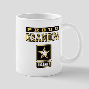 Proud Grandpa U.S. Army Mug