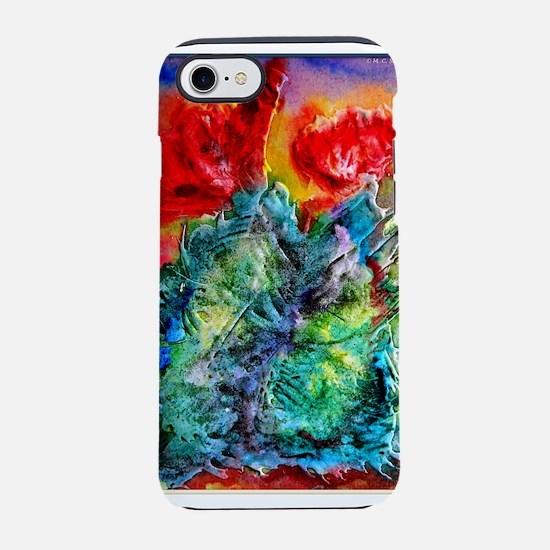 Cactus, colorful southwest desert art iPhone 7 Tou