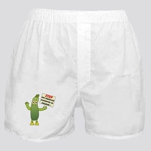 Save Zucchini Boxer Shorts