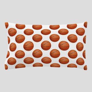 Basketballs Pillow Case