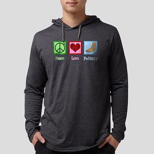 Podiatry Mens Hooded Shirt