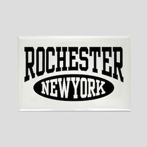 Rochester New York Rectangle Magnet