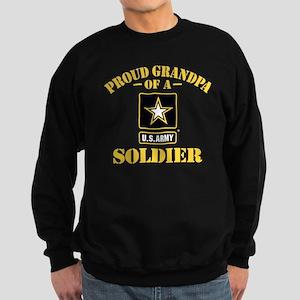 Proud U.S. Army Grandpa Sweatshirt (dark)