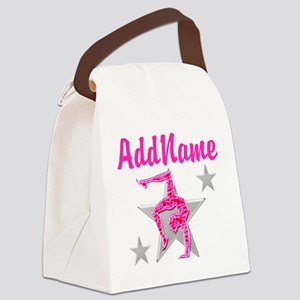 GORGEOUS GYMNAST Canvas Lunch Bag