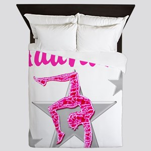 GORGEOUS GYMNAST Queen Duvet
