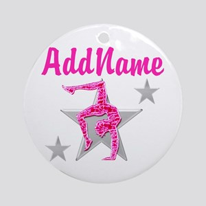 GORGEOUS GYMNAST Ornament (Round)