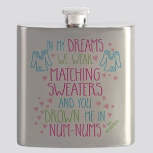The Goldbergs Bev Matching Sweaters Flask
