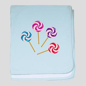 Lollipops baby blanket