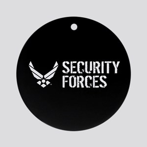 USAF: Security Forces Round Ornament