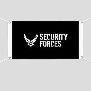 USAF: Security Forces Banner