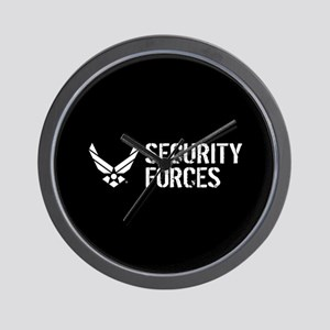 USAF: Security Forces Wall Clock