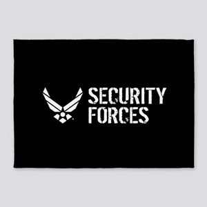 USAF: Security Forces 5'x7'Area Rug