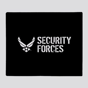 USAF: Security Forces Throw Blanket