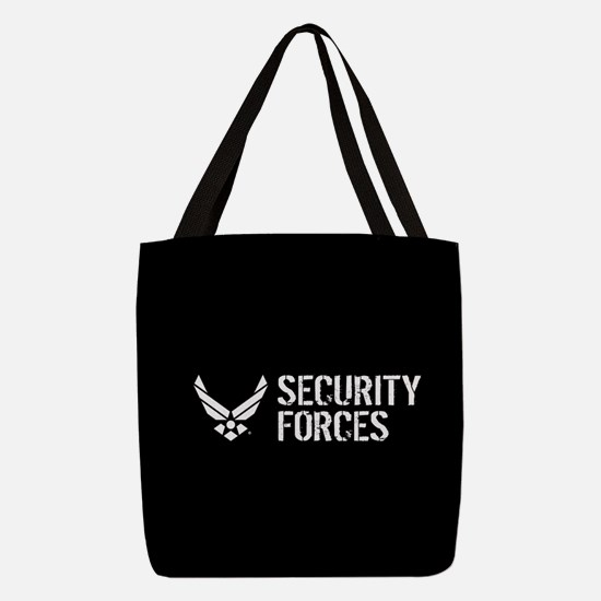 USAF: Security Forces Polyester Tote Bag