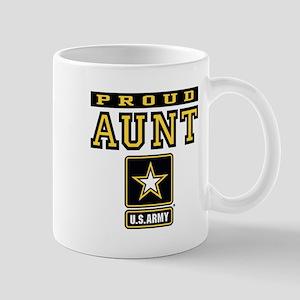 Proud Aunt U.S. Army Mug