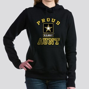Proud U.S. Army Aunt Women's Hooded Sweatshirt