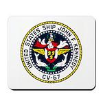 USS JOHN F. KENNEDY Mousepad
