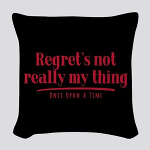 OUAT Regret's Not Really My Thing Woven Throw Pill