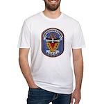 USS RICHMOND K. TURNER Fitted T-Shirt