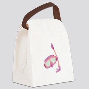 Snorkle Mask Canvas Lunch Bag