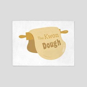 Tae Kwon Dough 5'x7'Area Rug