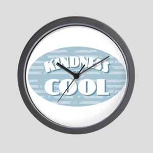 Kindness is Cool Wall Clock