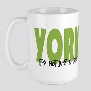 Yorkipoo ADVENTURE Large Mug
