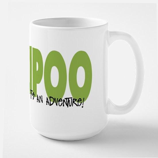Yorkipoo ADVENTURE Large Mug