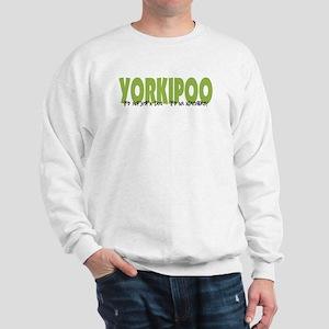 Yorkipoo ADVENTURE Sweatshirt