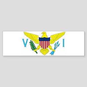virginislandsflag2 Bumper Sticker
