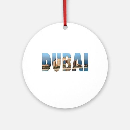 Dubai Round Ornament