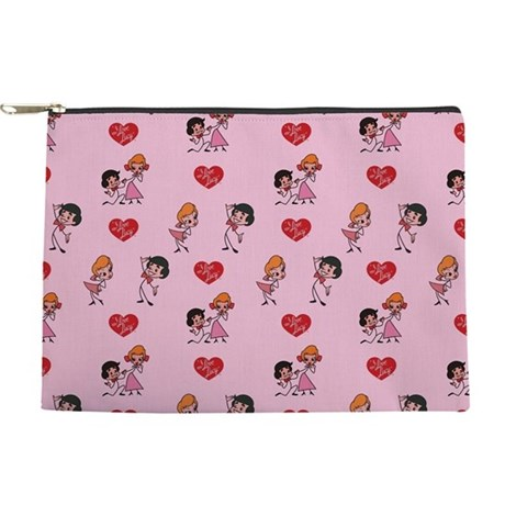 I Love Lucy: Pattern Makeup Pouch