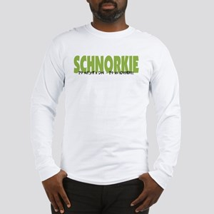 Schnorkie IT'S AN ADVENTURE Long Sleeve T-Shirt