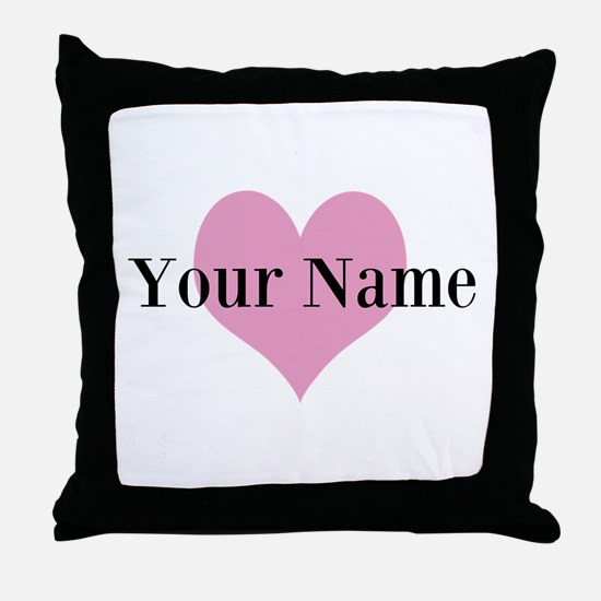 Personalized Throw Pillow For Women And Girls
