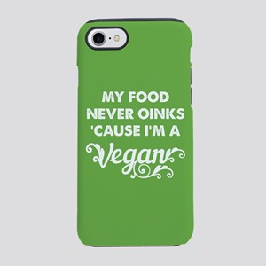 Food Never Oinks iPhone 7 Tough Case
