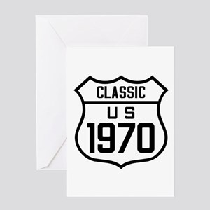 Classic US 1970 Greeting Cards
