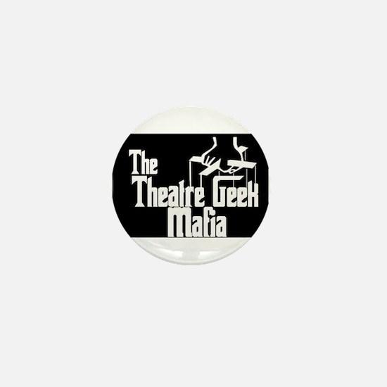 Theatre Geek Mafia Mini Button (10 pack)
