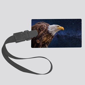 Bald Eagle Large Luggage Tag