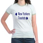 NY Tourists Jr. Ringer T-Shirt