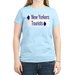 NY Tourists Women's Light T-Shirt