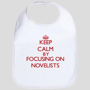 Keep Calm by focusing on Novelists Bib