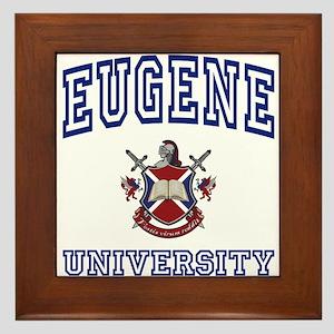 EUGENE University Framed Tile