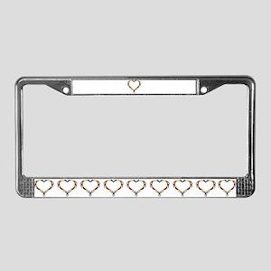 BEAR Love 5 - License Plate Frame