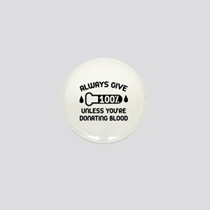 Always Give 100 Percent Mini Button