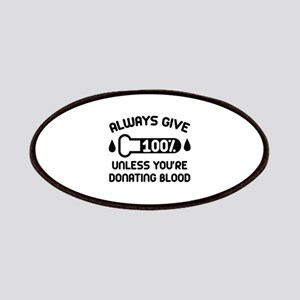 Always Give 100 Percent Patches