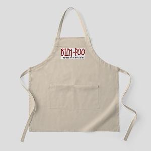 Bich-Poo JUST A DOG BBQ Apron