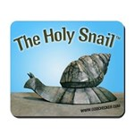 Holy Snail Mousepad